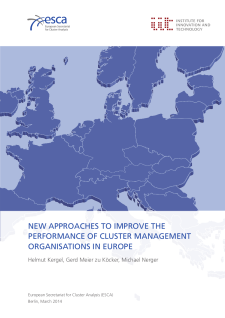 Cover New Approaches to Improve the Performance of Cluster Management Organisations in Europe