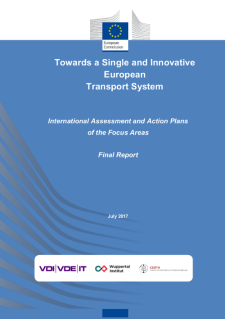 Cover Towards a Single and Innovative European Transport System