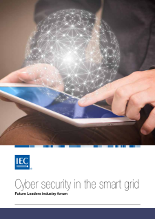Cover Cyber security in the smart grid – Future Leaders industry forum