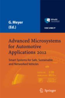 Cover Advanced Microsystems for Automotive Applications 2012