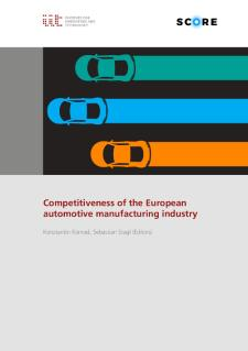 Cover Competitiveness of the European automotive manufacturing industry