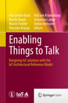 Cover Enabling things to talk