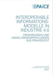 Cover Interoperable Informationsmodelle Industrie 4.0