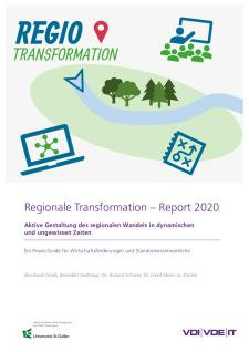 Cover Regionale Transformation – Report 2020