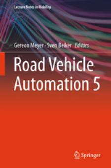 Deckblatt Road Vehicle Automation 5