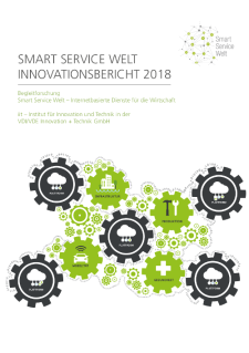 Cover Smart Service Welt Innovationsbericht 2018