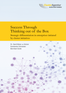 Cover Success through thinking out of the box