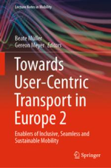 Cover Towards User-Centric Transport in Europe 2